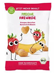 BIO Chrumky Kukurica, banán a jahoda 30 g