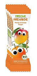 BIO Ovocná tyčinka - Mango a pomaranč 4 x 23 g