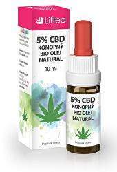5 % CBD konopný olej 10 ml