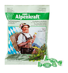 Alpenkraft - Bylinné bonbony 75 g
