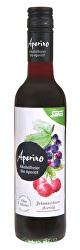 BIO Aperino Černý rybíz Acerola - Bylinný aperitiv bez alkoholu 375 ml