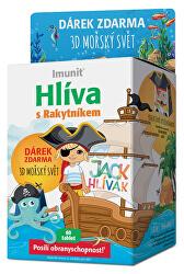 Hliva JACK Hlivák pre deti 60 tabliet + 3D morský svet