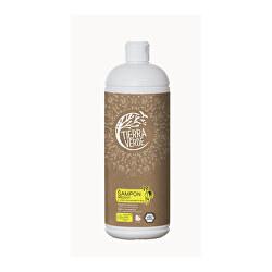 Březový šampon na suché vlasy s vůní citronové trávy 1 l