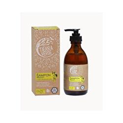 Březový šampon na suché vlasy s vůní citronové trávy 230 ml