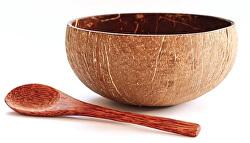 Kokosová miska Organica M s lyžicou