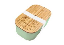 Lunch box L s oddělovačem - Mint