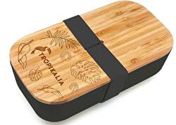 Lunch box M - Černý