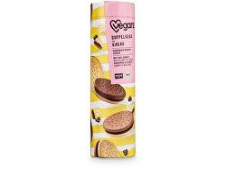 Dvojité sušenky s kakaovou náplní, Bio 400 g - SLEVA - KRÁTKÁ EXPIRACE 22.12.2021