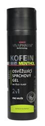 Kofeinový sprchový gel 2v1 s mentholem pro muže 200 ml