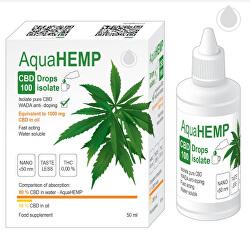 AquaHEMP DROPS isolate 50 ml