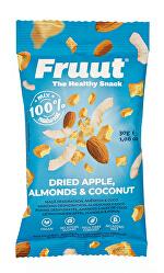Sušené jablečné křupavé kousky smandlemi a kokosem 30 g