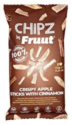 Sušené jablečné křupavé kousky se skořicí 20 g