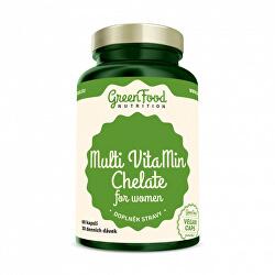 GF Multi Vitamin Chelate for women 60cps