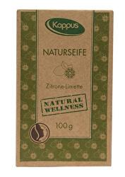 Certifikované přírodní mýdlo 100 g citron & limetka 3-1421