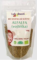 Alfalfa (vojtěška) BIO - semínka ke klíčení 400 g