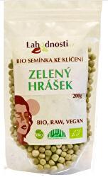 BIO Zelený hrášek, semínka ke klíčení 400 g