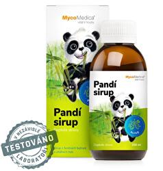 Pandí sirup 200 ml + pastelky ZD ARMA