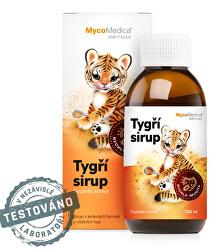 Tigrie sirup 200 ml + pastelky ZD ARMA
