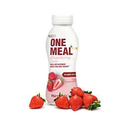 ONE MEAL + PRIME hotový nápoj Strawberry Love 372 g