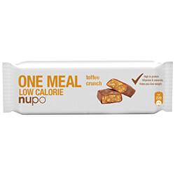 ONE MEAL tyčinka Křupavý karamel 65 g