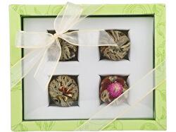 Adikia zelená set kvitnúcich čajov