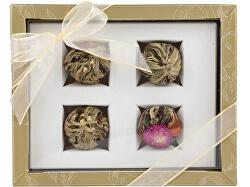 Adikia zlatá set kvitnúcich čajov