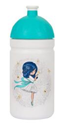Zdravá fľaša Dievča s mašľou 0,5 l