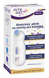 RiteAid Elektrický pilník na nehty pro miminka