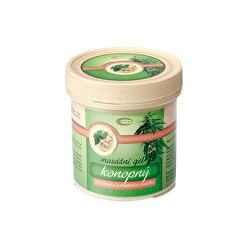 Konopný masážní gel 250 ml