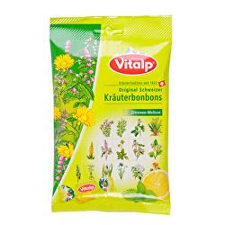 VITALP bylinné bonbony citron+ meduňka 75 g