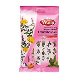 VITALP bylinné bonbony šalvěj bez cukru 75 g