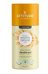 Přírodní tuhý deodorant - pro citlivou a atopickou pokožku - s arganovým olejem 85 g