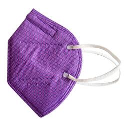 Nano respirátor FFP2 - fialový