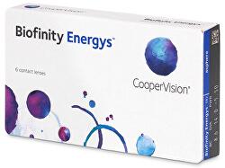Biofinity Energys 6 čoček