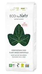 Dámské ECO inkontinenční vložky Naty - normal (12 ks)