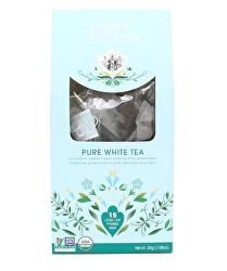 Čistý bílý čaj 15 pyramidek sypaného čaje