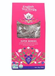 Super ovocný čaj 15 pyramidek sypaného čaje