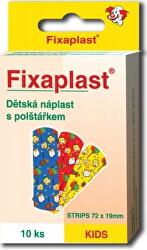 Náplasť FIXAPLAST KIDS - strip 10 ks detská