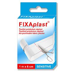 Náplasť FIXAPLAST SENS itive 1 mx 6 cm