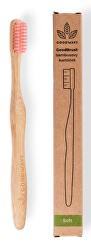 GoodBrush bambusový kartáček Růžová