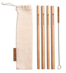 GoodStraw bambusová brčka 4 ks