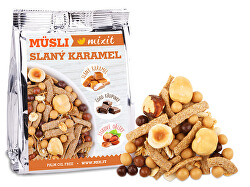 Pečený Mixit - Slaný karamel & lískové oříšky do kapsy 1 ks, 60 g