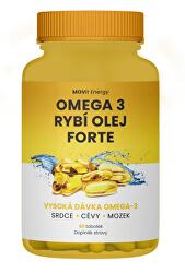Hnuteľný Omega 3 Rybí olej FORTE, 315 mg EPA, 245 mg DHA, 60 kapsúl