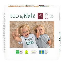 Naťahovacie plienkové nohavičky Naty Junior 12 - 18 kg 20 ks