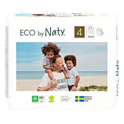 Naťahovacie plienkové nohavičky Naty Maxi 8 - 15 kg 22 ks