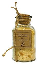 Luxusní koupelová sůl séterickými oleji a pomerančovou kůrou 300 g
