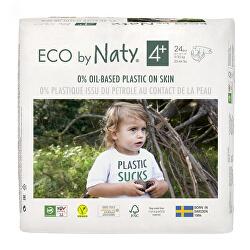 Plenky Naty Maxi+ 9-20 kg (24 ks)