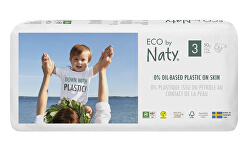 Plienky Naty Midi 4 - 9 kg - ECONOMY PACK 50 ks