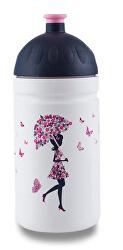 Zdravá lahev - Dívka s deštníkem 0,5 l
