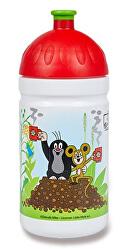 Zdravá lahev - Krtek a jahody - červená 0,5 l